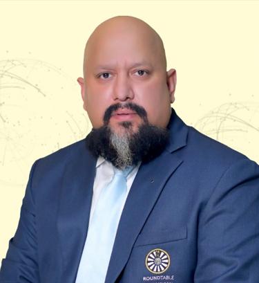 DK Singh - RTI President 2020-2021